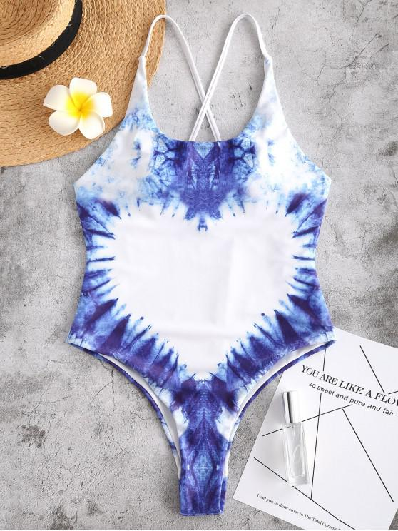 ZAFUL السامي قص قطع الصليب صباغة ملابس السباحة - متعدد L