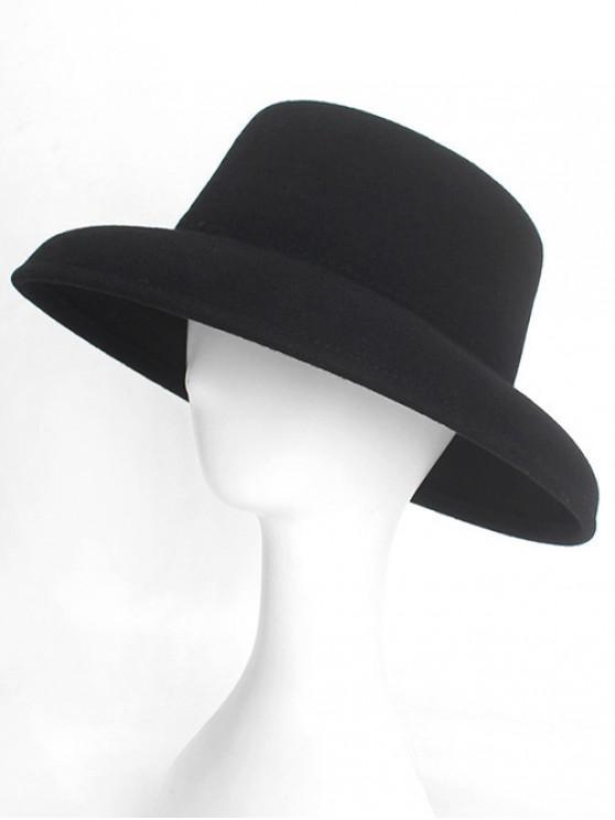 2d03e2efa4f 27% OFF  2019 Formal Design Winter Flat Top Hat In BLACK