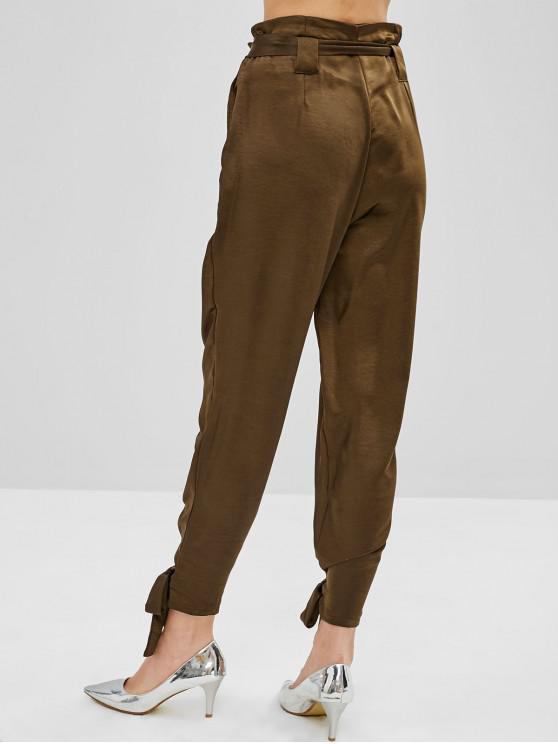Pantalon Ceinturée Taille HauteCafé À M Noué 354AjqRScL