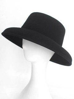Formal Design Winter Flat Top Hat - Black