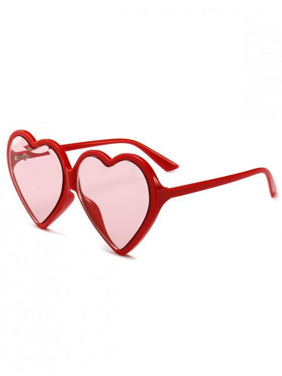 moda caliente calidad de marca nuevo estilo Gafas de sol con lentes de corazon LIGHT BLUE CHAMPAGNE GOLD BLACK PURPLE  RED