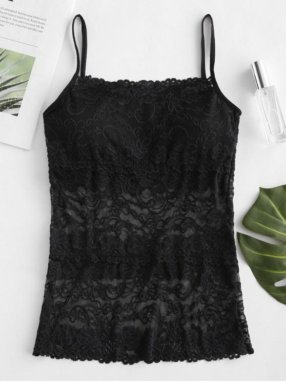 best Lace Camisole - BLACK ONE SIZE
