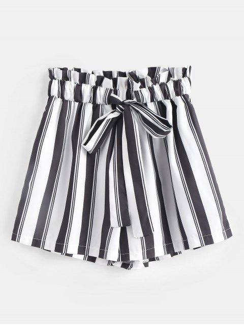 buy Drawstring Striped Shorts - MULTI S Mobile