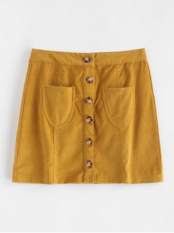 Taschen Cord A Line Rock - Orange Gold M