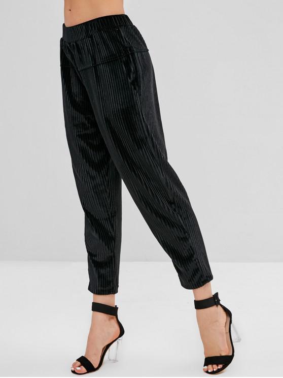 timeless design official site men/man High Waist Corduroy Pants with Pockets