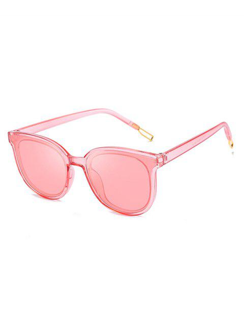 best Butterfly Frame Unisex Sunglasses - PINK  Mobile