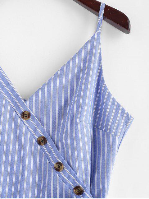 Vestido camuflado de rayas con botones - Azul de Koi M Mobile