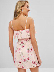 757e572024 ... Overlay Floral Cami Dress  Overlay Floral Cami Dress. lady Overlay  Floral Cami Dress - LIGHT PINK M