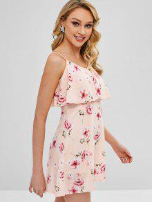7d93714a57 Overlay Floral Cami Dress  Overlay Floral Cami Dress  Overlay Floral Cami  Dress  Overlay Floral Cami Dress. lady Overlay Floral Cami Dress - LIGHT  PINK M