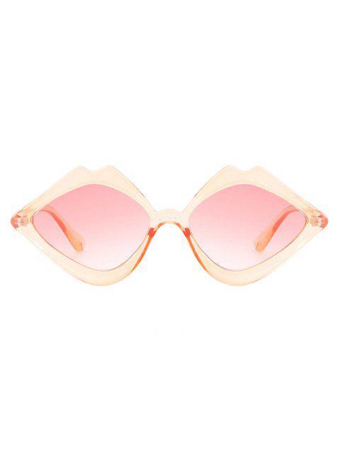 sale Novelty Irregular Shape Sunglasses - PINK  Mobile
