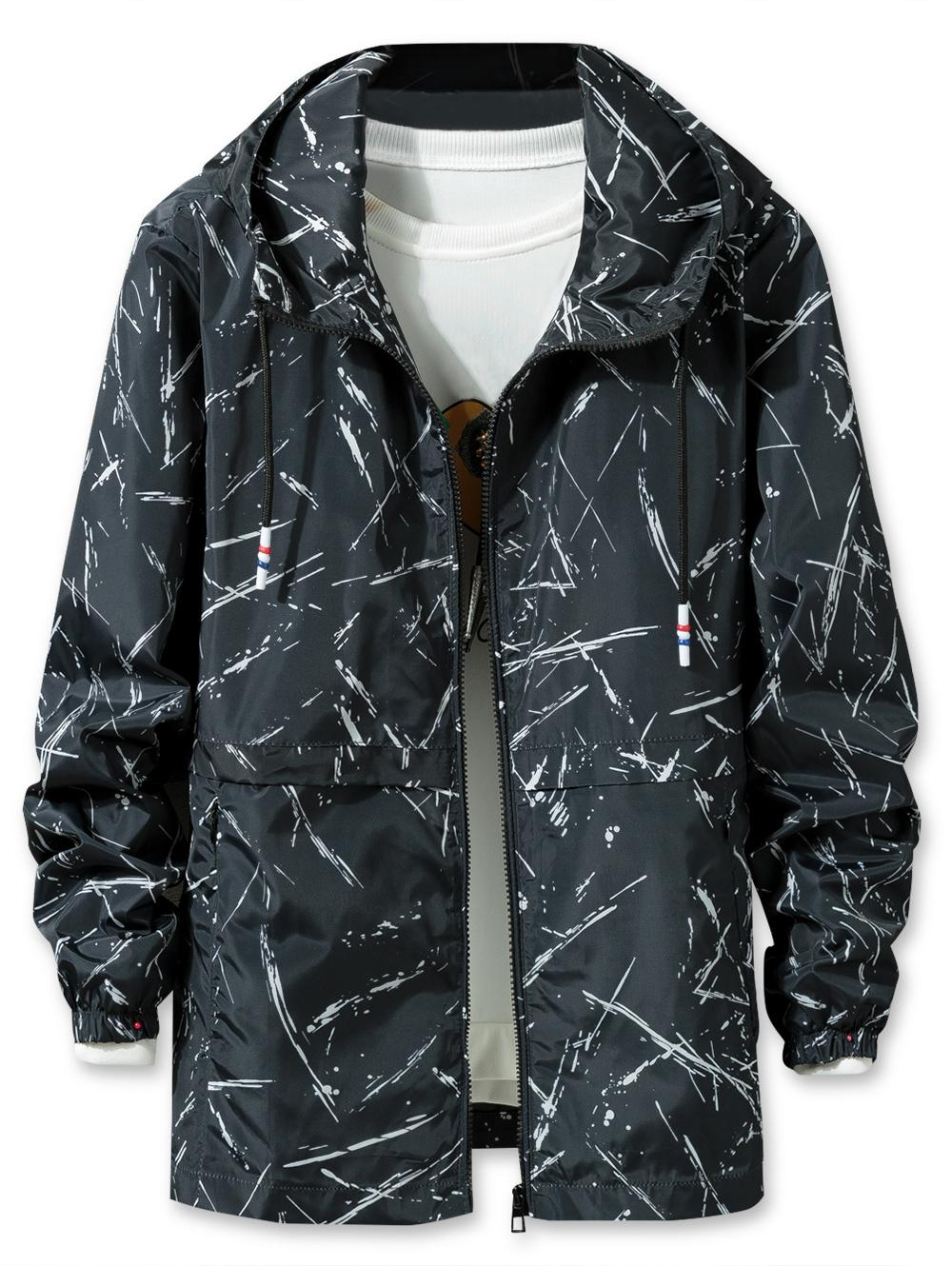Printed Lightweight Jacket