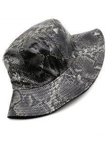 0040a032c6c4e Novelty Snakeskin Pattern Bucket Hat  Novelty Snakeskin Pattern Bucket Hat