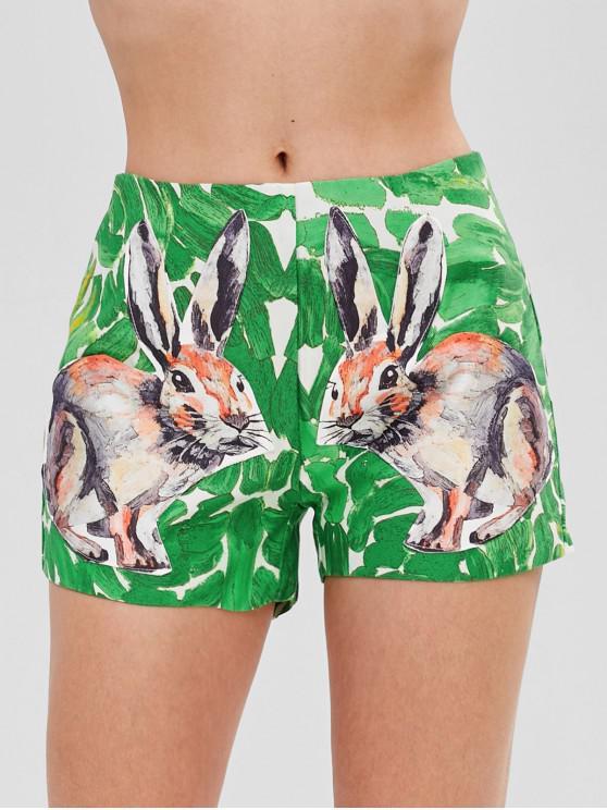 sale Rabbit Pocket Shorts - GREEN L