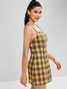 1d130f5694b1 20% OFF] 2019 Plaid Mini Cami Dress In MULTI | ZAFUL