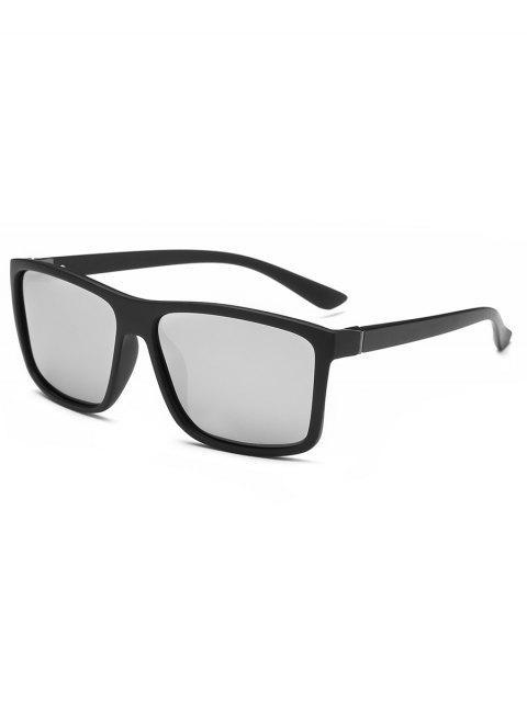 ladies Rectangle Classic Sunglasses - SILVER  Mobile