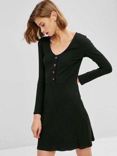 Sleeve Mini Dress