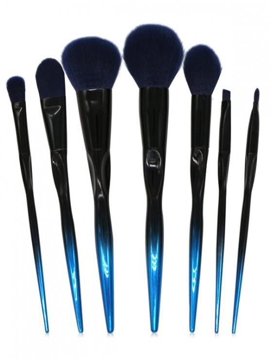 Ombre Decoration Makeup Brushes Set - Negro