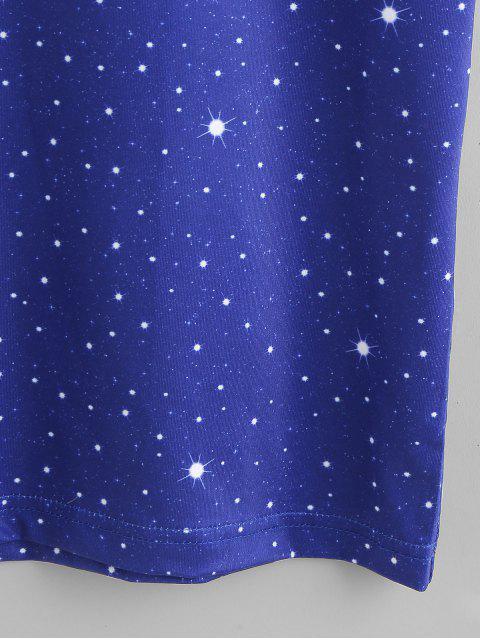Camiseta con gráfico del compás - Blanco 2XL Mobile
