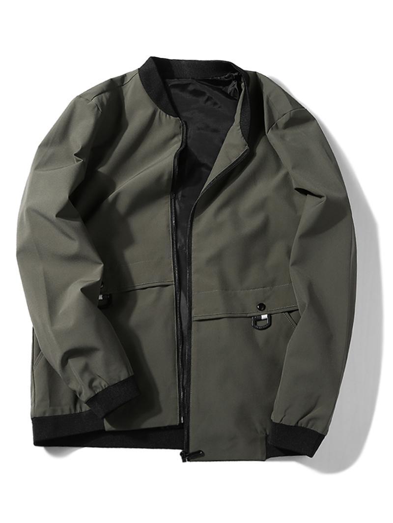 Applique Zip Up Jacket