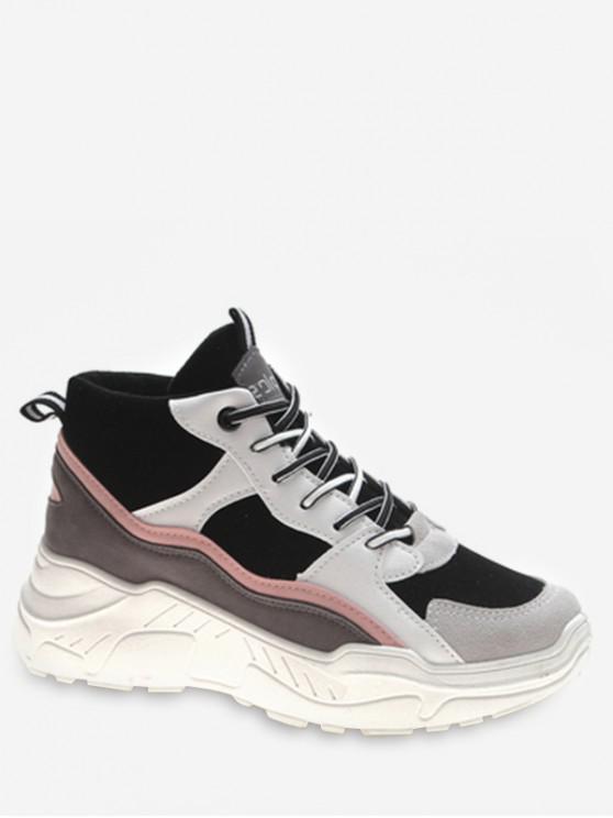 buy Mid Top Platform Sneakers - LIGHT PINK EU 38
