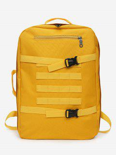 Multi-usage Outdoor Sport Nylon Backpack - Yellow