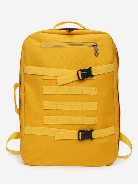 fashion Multi-usage Outdoor Sport Nylon Backpack - YELLOW  Mobile