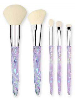 Ensemble De Pinceaux à Maquillage Design Cristal Fantaisie  - Multi-a