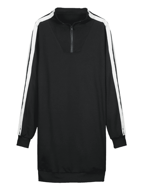 ZAFUL Pullover Sweatshirt Kleid - Schwarz M Mobile