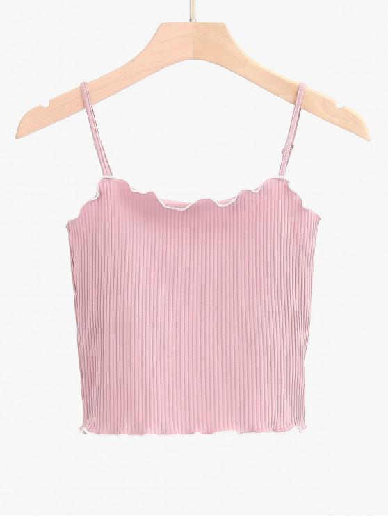 Alface Trim Tubing Cami Top - Rosa Tamanho único