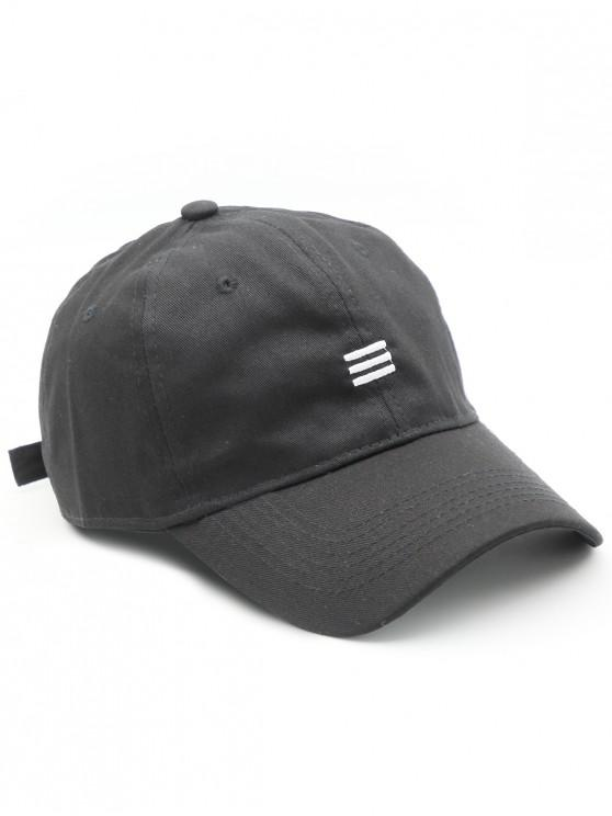 2019 Solid Simple Style Baseball Hat In BLACK  427c2f28104