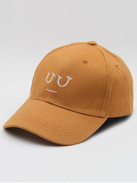 women's Cotton Hip Hop Baseball Hat - BROWN  Mobile
