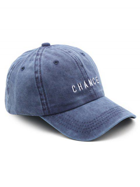outfits Letters Print Baseball Hat - BLUE  Mobile