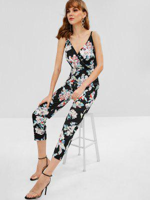 e0511844bf11 Floral Print Cami Jumpsuit Fashion Shop Trendy Style Online   ZAFUL