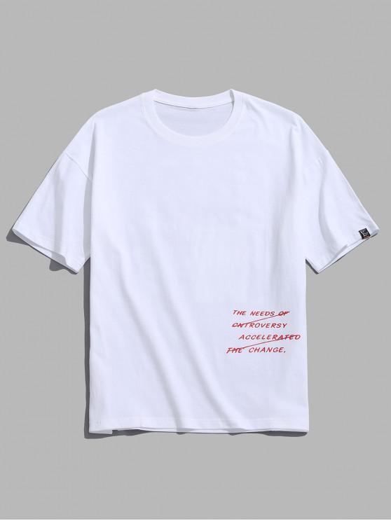 T-shirt cool con stampa grafica - Bianca M