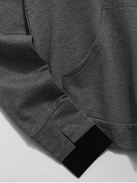Color Block - Perforierte Tasche mit Kapuze - Multi L Mobile