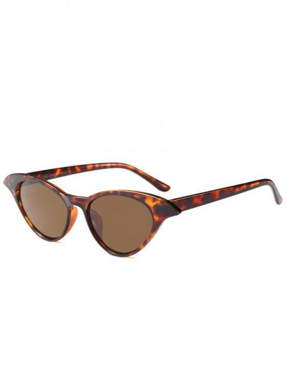 hot Unique Cat Eye Design Sunglasses - LEOPARD
