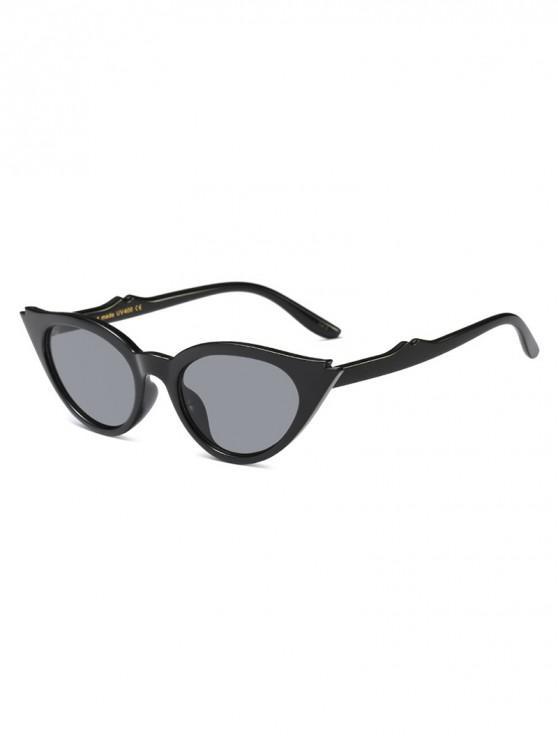 unique Innovative Cat Eye Shape Sunglasses - BLACK