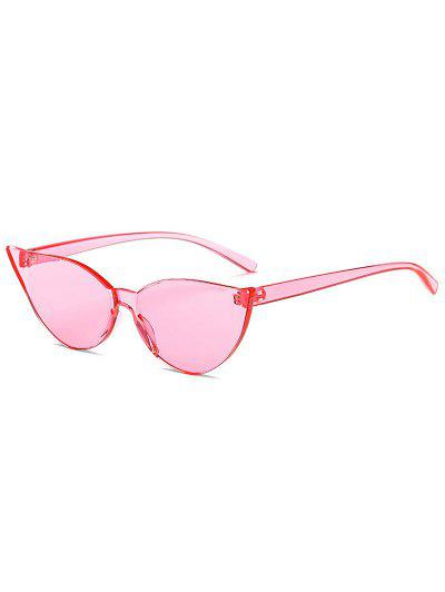 eae50fd20f7 Candy Color Catty Eyes Sunglasses - Pink ...