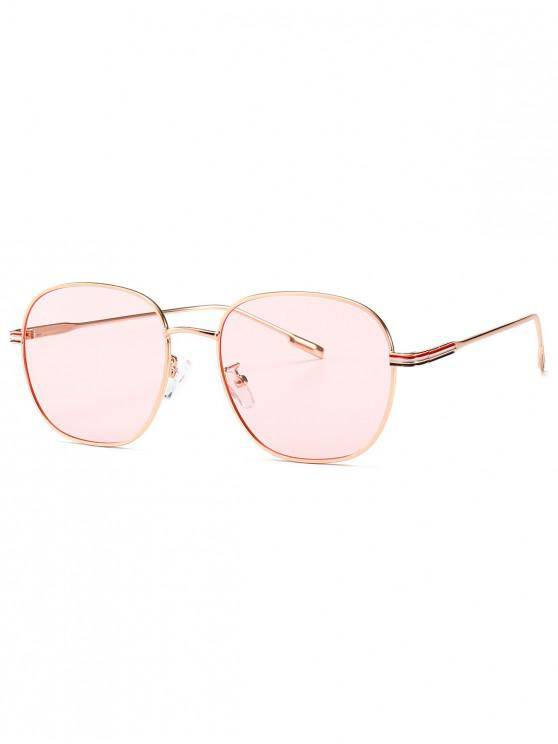 Óculos de sol anti UV do vintage - Rosa