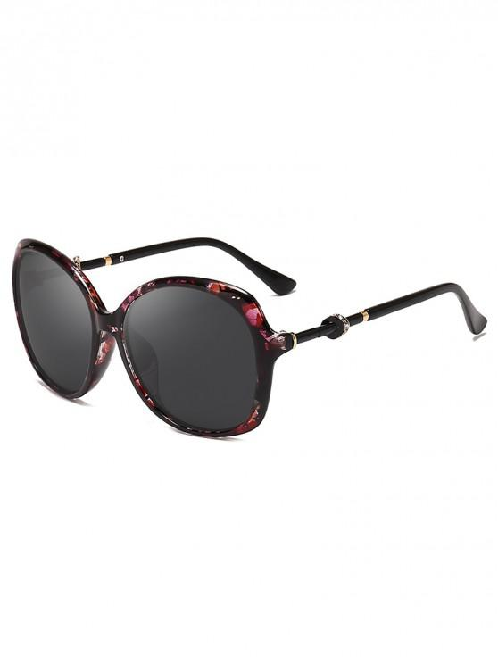 chic Rhinestone Decorated Butterfly Frame Sunglasses - TAUPE