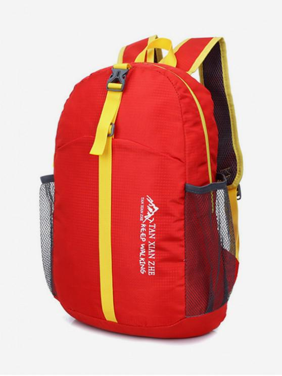 d8519a1af7e 48% OFF] 2019 Outdoors Waterproof Folding Backpack In RED | ZAFUL