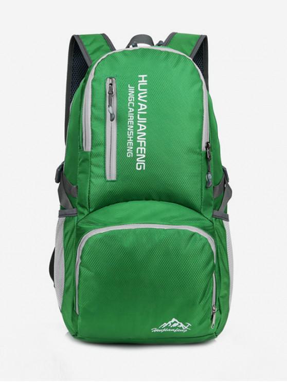 women Graphic Pattern Waterproof Replicate Sport Bag - CLOVER GREEN