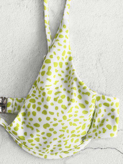 Bikini Stampato con Ferretto di ZAFUL - Verde chiaro S Mobile
