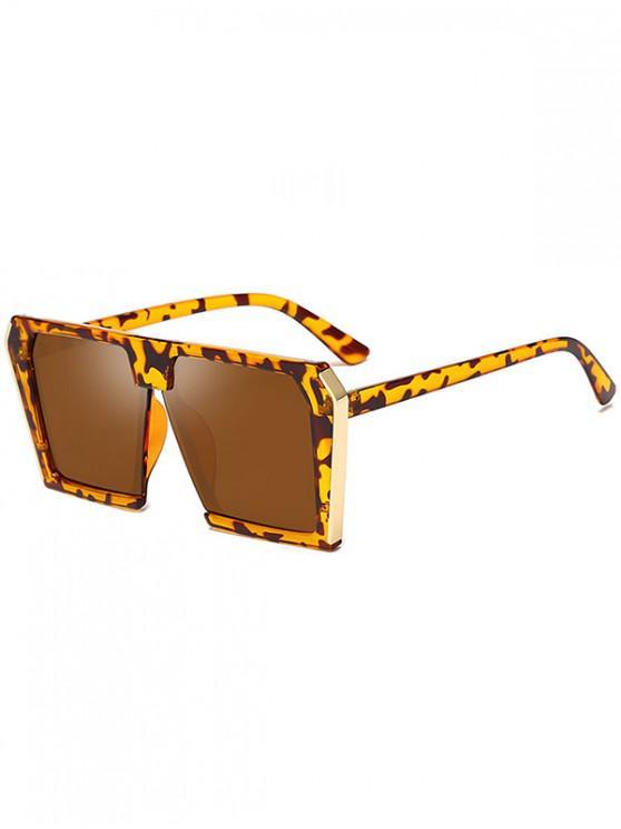 sale Stylish Square Frame Unisex Sunglasses - LEOPARD