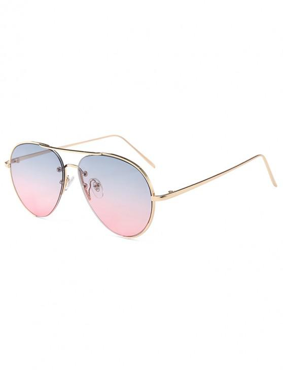 best Outdoor Metal Pilot Sunglasses - MULTI-A