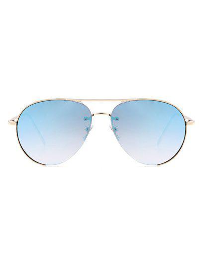 b3093cc0347 ... Outdoor Metal Pilot Sunglasses - Light Slate Blue