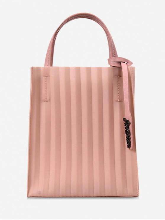 affordable Open Pleated Sling Bag - PINK