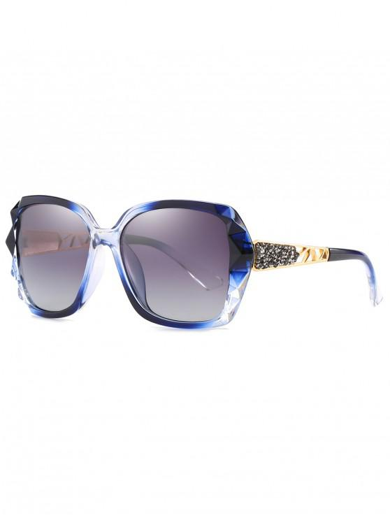 outfits Polarized Oversize Decorative Sunglasses - BLUE