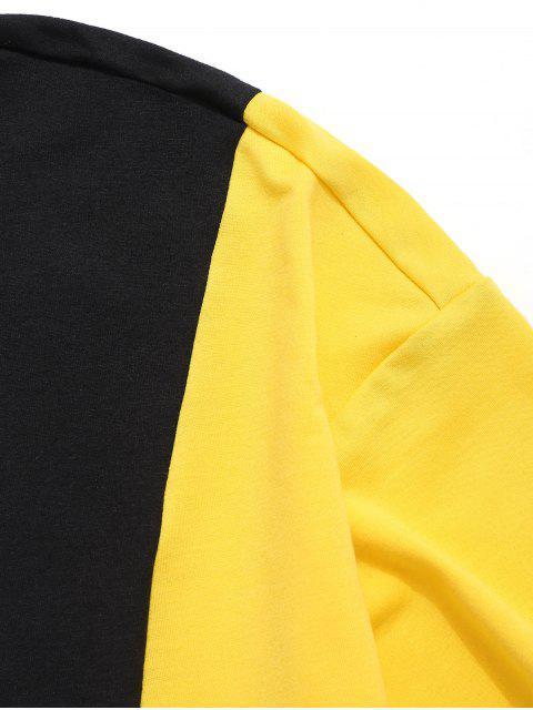 Panel de manga corta con capucha superior - Multicolor 2XL Mobile