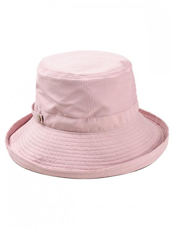 shop Adjustable Cotton Bucket Hat - LIGHT PINK